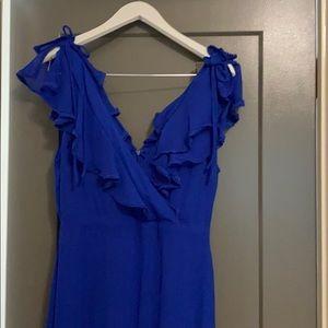 Lulus jewel tones maxi dress